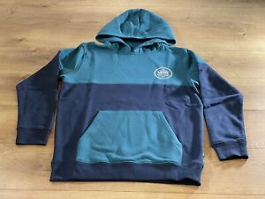 Vans By Blocked Out Pullover Fleece Blue Boys SZ M ( VN0A5FMJZ98 ) NWT!!!