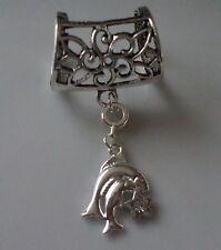 Fianza de Anillo Astrología Zodíaco Piscis Bufanda Diseño En Color Plata + Regalo Gratis Bolsa