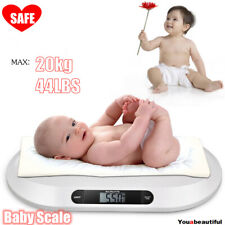 20kg Lcd Electronic Baby Scales Weighing Scale Infant Pet Puppy Cat 44lbs Usa