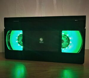 Xbox Video Game VHS Night Light, PlayStation, Computer Game, Desk Lamp, Kids