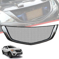 FRONT CARBON NET GRILLE GRILL FIT FOR MAZDA BT-50 BT50 PRO 2012 13 16 17 18