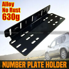 NUMBER PLATE HOLDER MOUNT BRACKET CAR LED DRIVING LIGHT BAR SPOT LICENCE