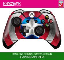 KNR6651 CAPTAIN AMERICA SHIELD PREMIUM XBOX ONE CONTROLLER SKIN STICKER
