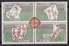 TIMBRE bloc MONACO neuf * N° 628 / 629 / 630 / 631   CENTENAIRE DU FOOTBALL