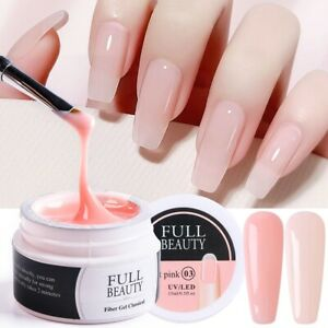 Nail Extension Gel Acrylic White Clear Quick Building Gel For Nails Finger art