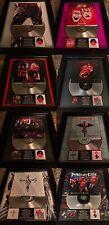8 VERY RARE Motley Crue Platinum Record Album Disc Music Award Grammy RIAA MTV