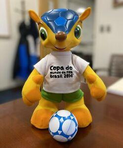 """Brazil FIFA World Cup 2014 mascot """"Fuleco"""""""