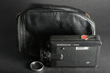 Agfa Microflex 200 sensor Filmkamera Super8 inkl. Equipment; gebraucht
