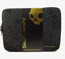 "Skullcandy Shattered Laptop Sleeve fits up to 16"" - Black/Green - NEW"