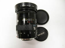 Minolta Maxxum AF 28-85mm f/3.5-4.5 lens Minolta Sony mount with lens hood used