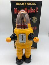 MOON ROBOT  YELLOW ROBBY THE ROBOT YONEZAWA TIN TOY NOMURA YOSHIYA HORIKAWA