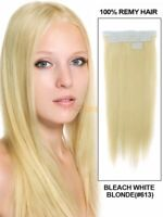 Super Tape In Glue 100% Remy Human Hair Extensions Real 20pcs 30G-70G