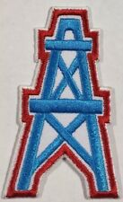 Houston Oilers~Iron On Logo Embroidered Patch~Free Shipping from the USA~