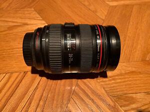 Canon EF 24-70mm F/2.8L USM Standard Zoom Lens
