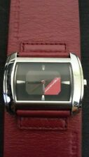 """Men's ROCKWELL """"Sara Signature Line"""" (Red/Silver/BLK) Watch: EXCELLENT W/BATTERY"""