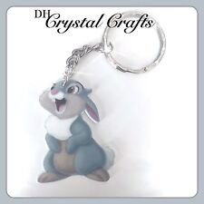 Disney Thumper Rabbit From Bambi Theme Handmade Keyring Bag Charm Xmas #19