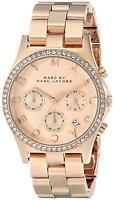 Marc by Marc Jacobs Ladies' Henry Watch, Stainless Steel, Rose Dial, MBM3118