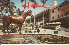 *ag(C) Hialeah, Florida: Bronze Statue of Great Thoroughbred