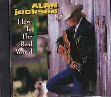 ALAN JACKSON - HERE IN THE REAL WORLD - CD