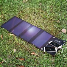 FLOUREON Waterproof Foldable Solar Charger 28W Solar Panel 3 USB for Smartphone