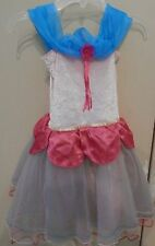 manhattan toys groovy girl  Dress Costume Size 4-6X halloween fun pink/blue