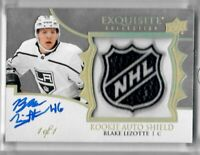 2019-20 Upper Deck The Cup Blake Lizotte ROOKIE AUTO SHIELD 1 OF 1 LA KINGS