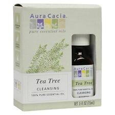 Aura Cacia Tea Tree Essential Oil Blend, 0.5oz 051381991968A450