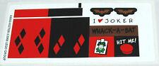 LEGO 7886 - Batman - The Batcycle: Harley Quinn's Hammer Truck - STICKER SHEET