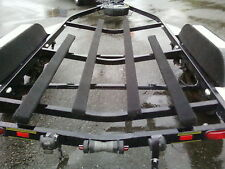 "Aggressor 160 Boat Trailer Bunk Running Board Carpet Gunmetal Gray  15"" wide"