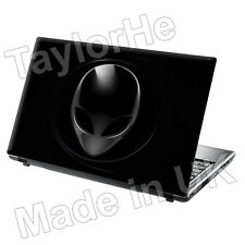 "15,6 ""Laptop piel cubierta Sticker Decal Alien Cabeza 89"