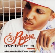 Tempted to Touch Remixes [Maxi Single] by Rupee (CD, Nov-2004, Atlantic (Label))