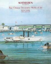 Sotheby's Chinese Decorative Works of Art 1990