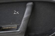 Se adapta a Mazda Rx7 fc3s 2x Manija De Puerta cubre Negro Stitch