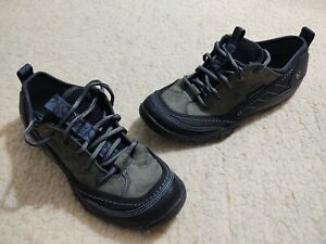 Merrell Mimosa Lace J68166 Black Performance Suede Hiking Sneaker Shoes Women 8