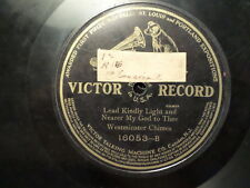 VICTOR 78 RECORD 16053/WESTMINSTER CHIMES/ADESTE FIDELIS/LEAD KINDLY/VG+