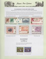 1973 PNG PAPUA NEW GUINEA 75th Anniversary Self Government STAMP SET K-433