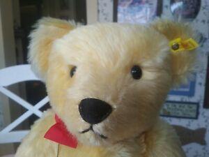 HUGE and rather fantastic Steiff 1909 Replica Teddy bear EAN 0165/51 20in EUC