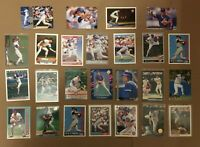 Ryne Sandberg Cards (Lot of 25) Topps Fleer Score Chicago Cubs