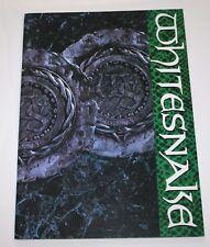 Whitesnake Tour Official Japan Program 1988