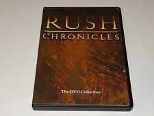 RUSH Chronicles-The DVD Collection-Geddy Lee-Neil Peart-Alex Lifeson N.Mint Disc