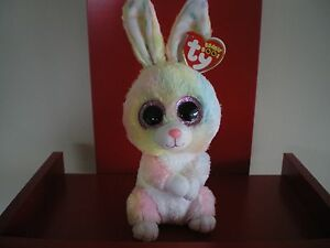 Ty Beanie Boos BUBBY rabbit  6 inch NWMT. NEW RELEASE EASTER BEANIE BOO.