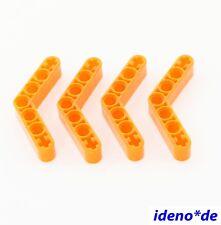 LEGO Technic  4 Stk. Liftarm 4 x 4 transparent neon orange 32348  6102900 NEU