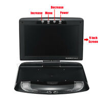 9'' HD Digital Car  Roof Mounted Drop Down Monitor MP5 Player + Remote