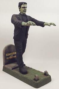 Lon Cheny Jr Frankenstein Finished Model Kit 'Frankenstein Meets The Wolfman'