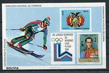 Bolivien Block 91 postfrisch / Olympiade ..................................1/940