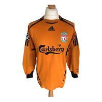 Liverpool 2006-07 Adidas Champions League Football Goalkeeper Shirt Pepe Reina S