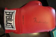 Muhammad Ali Autographed Everlast Boxing Glove w/ Display Case