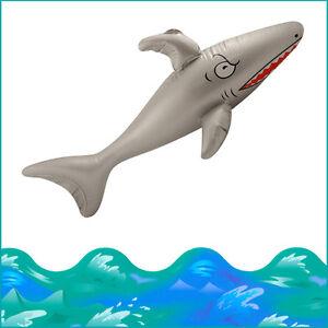 Inflatable Shark  Kid's Party Pool Beach Fun Fancy Dress Play 35Inch Fish Blow-u