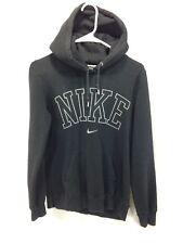 9bde28d7 Винтаж Nike толстовка с капюшоном для взрослых Большие унисекс черный  пуловер с капюшоном spellout