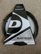 Dunlop Black Widow | 16G Tennis strings black poly